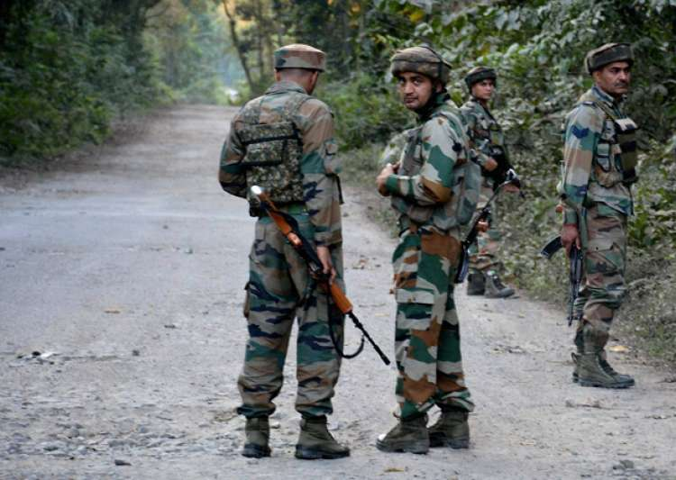 Terrorists gunned down in Kashmir- India Tv