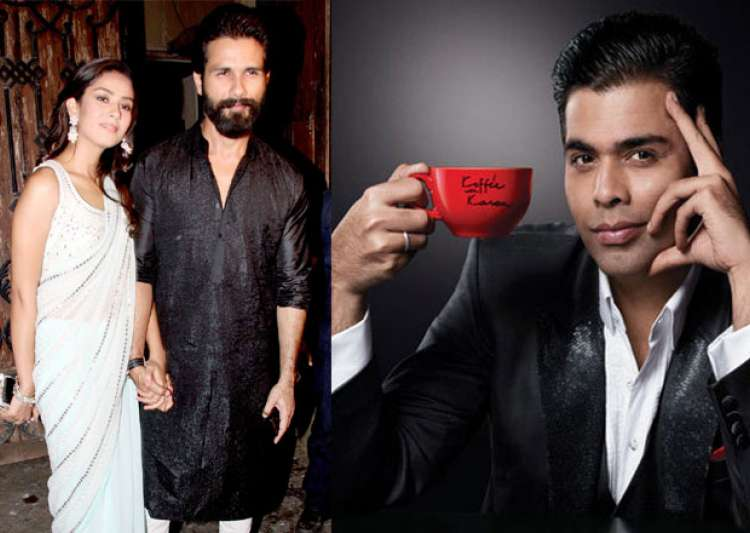 Shahid-Mira will appear on Koffee With Karan season 5- India Tv