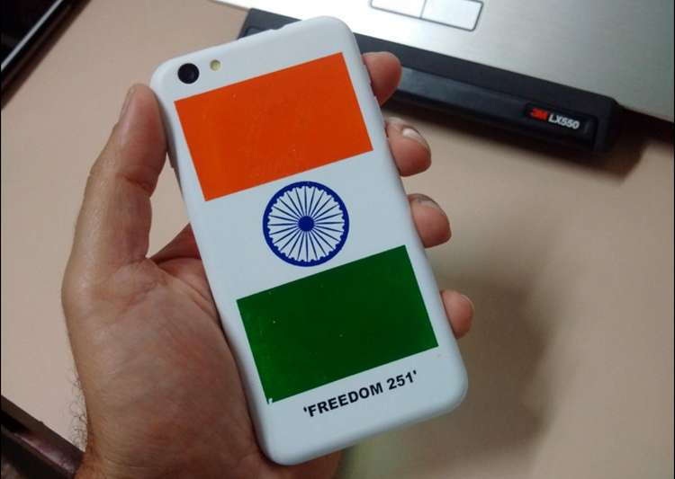 Freedom 251, cheque bounce- India Tv