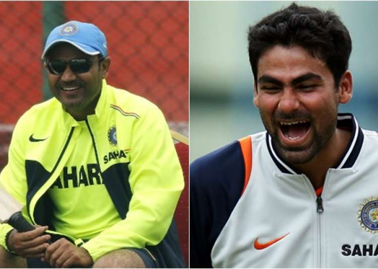Virender Sehwag, Mohammad Kaif- India Tv