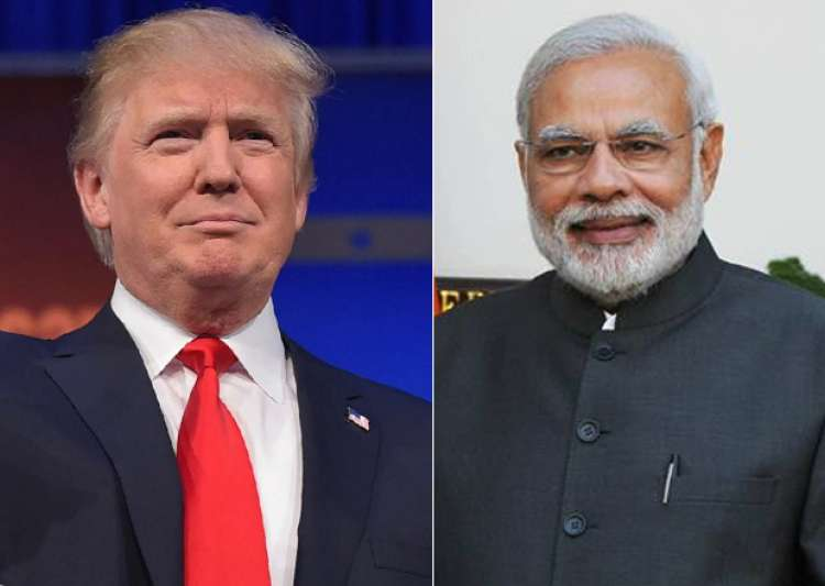 File pic - Donald Trump and Narendra Modi- India Tv