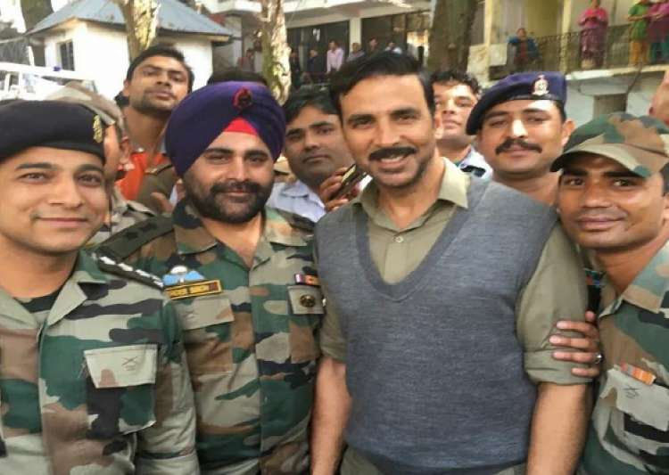 Akshay Kumar's love and respect for Indian Army - India Tv