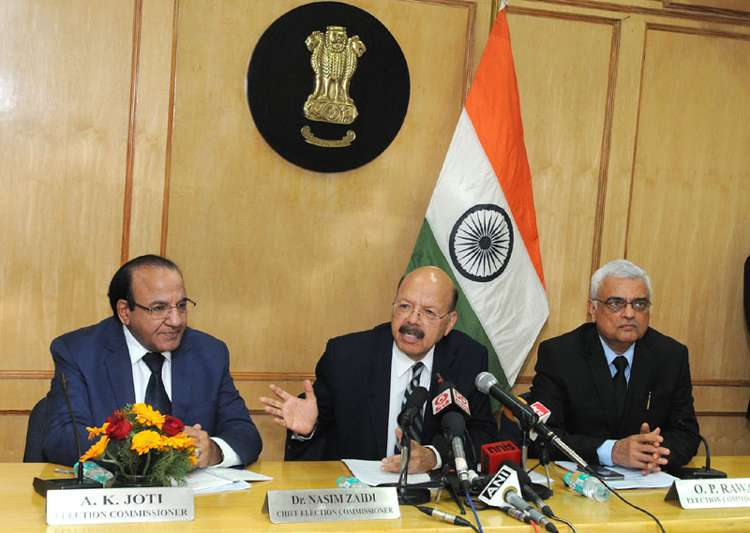 Election Commission today asserted that the EVMs are fully- India Tv