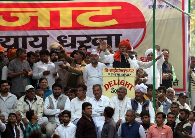 Jat protesters are planning a march to Parliament on- India Tv