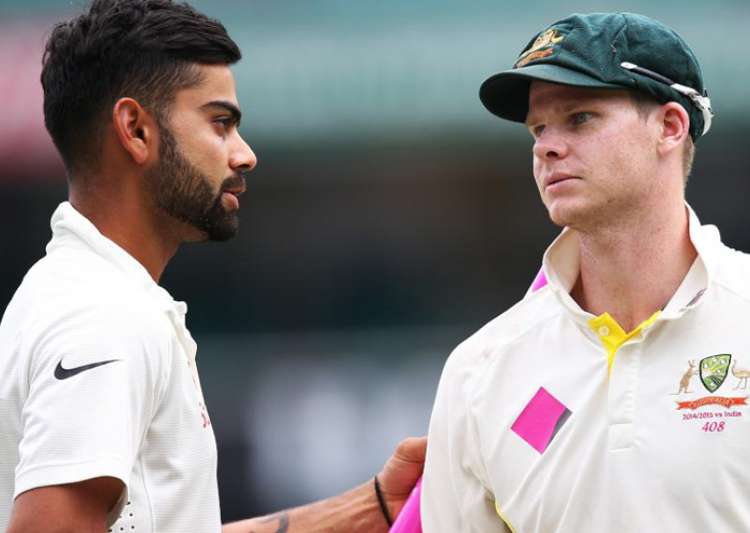 Kohli, Smith spar over disrespect to Team India physio- India Tv