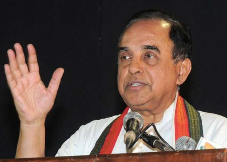 File pic of Subramanian Swamy- India Tv