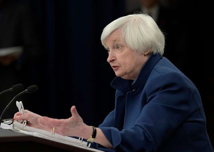Federal Reserve Chair Janet Yellen speaks during a news- India Tv