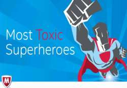 superman most toxic superhero online mcafee