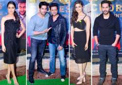 alia shraddha varun sidharth and others dazzle at ek