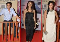 bollywood stars attend premiere of jolly llb watch pics