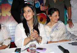 i would love to work with my mother says kajol