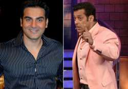 omg arbaaz khan makes fun of big brother salman khan watch