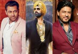 salman and shah rukh to watch akshay kumar s singh is