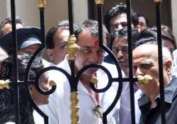 no jail work given yet to qaidi no. 16656 sanjay dutt in
