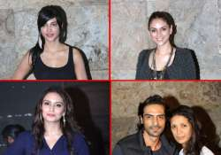 stars spotted attending special screening of d day view pics