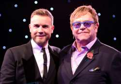 barlow refuses to share duet with elton john