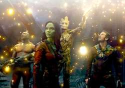 saldana moved by groot in guardians of the galaxy