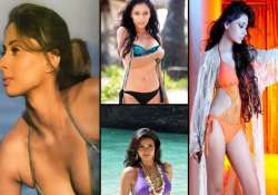 telly bahus flaunt their sexy side in bikinis view pics