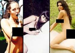 from angelina jolie to sherlyn chopra babes who have posed