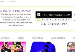 from clothes to jewellery shop at online flea bazaar