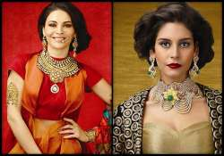 flaunt new age attitude with sparkling bridal jewellery see