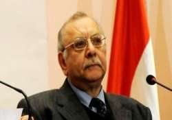 egypt unrest morsi ousted top judge sworn in as interim