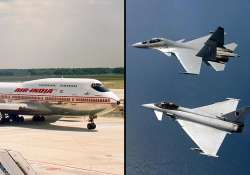 eurofighters escort indian president s special aircraft