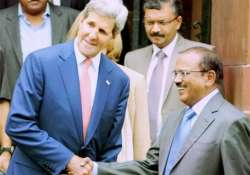 doval meets kerry discusses india us security cooperation
