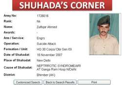 isi man who died in delhi is martyr on pak army website