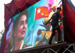 suu kyi s party heads for sweep in myanmar s historic vote