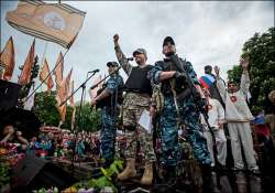 insurgents in eastern ukraine declare independence