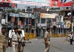 property worth over rs 3 cr damaged in shamli during riots