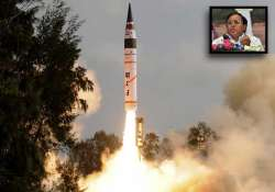 agni v missile is the best missile of 21st century says