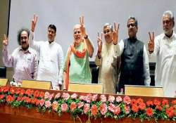 all gujarat ministers to attend modi s swearing in ceremony