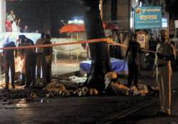 cctv cameras at blast sites in pune were non functional