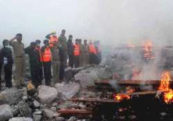 clear weather in uttarakhand 64 more bodies cremated