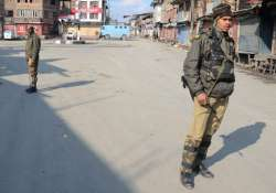 curfew continues in some areas of srinagar