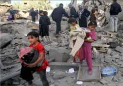 india to provide usd 1 million for aid to gaza victims
