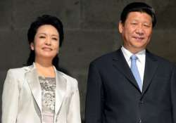 peng liyuan xi s wife visits delhi school