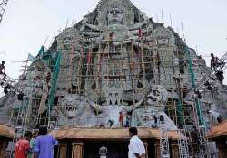 biggest durga idol vies for supremacy in west bengal