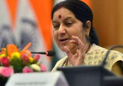 sushma swaraj pushes for separate market for women