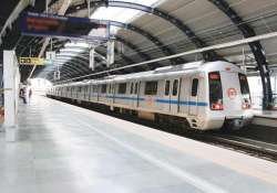 delhi metro services briefly hit by technical snags