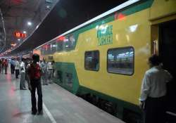 mp s first double decker train to be flagged off tomorrow