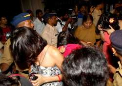 police raids at rave party in cyberabad several arrested