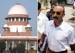 sc denies relief to ips officer sanjiv bhatt in custodial