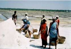 salt workers in india live work and get cremated in salt