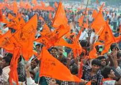 vhp yatra situation tense in up towns as security forces