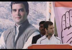 in pics rahul gandhi s rally in himachal pradesh
