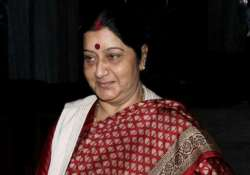 personally informed sujatha about new fs appointment sushma