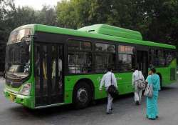 delhi polls dtc displays messages on its buses urging